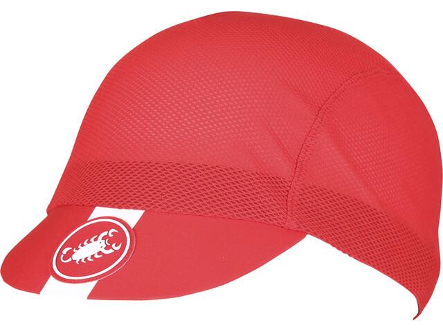 Castelli A/C Cycling Nakrycie głowy czerwony